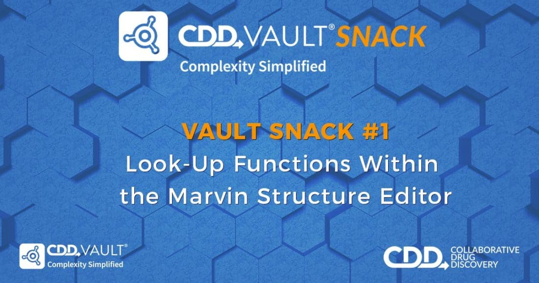 Vault Snack #1: Look-Up Functions Within the Marvin Structure Editor