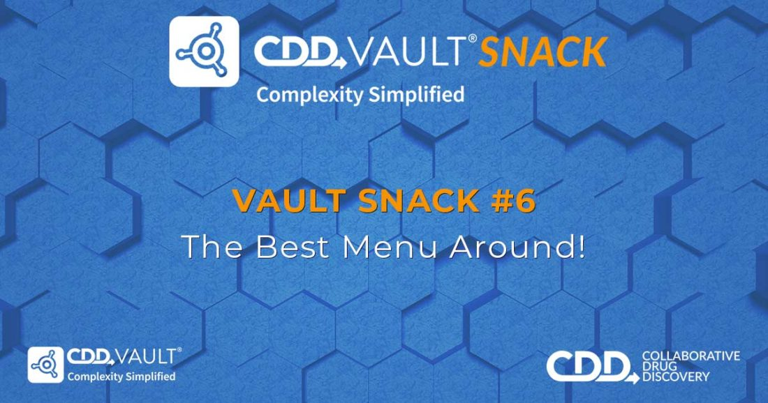 Vault Snack #6: The Best Menu Around