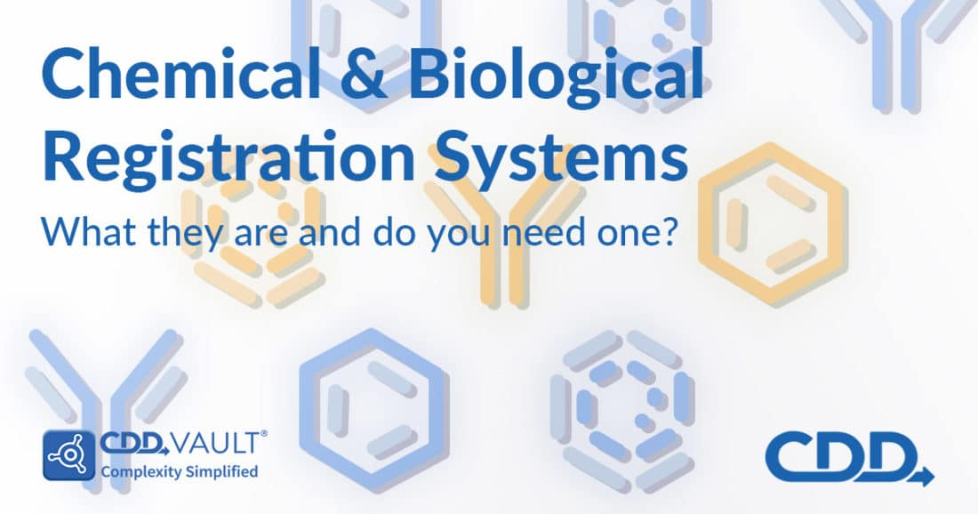 "featured image for CDD post ""Chemical and Biological Registration Systems: What they are and do you need one?"""