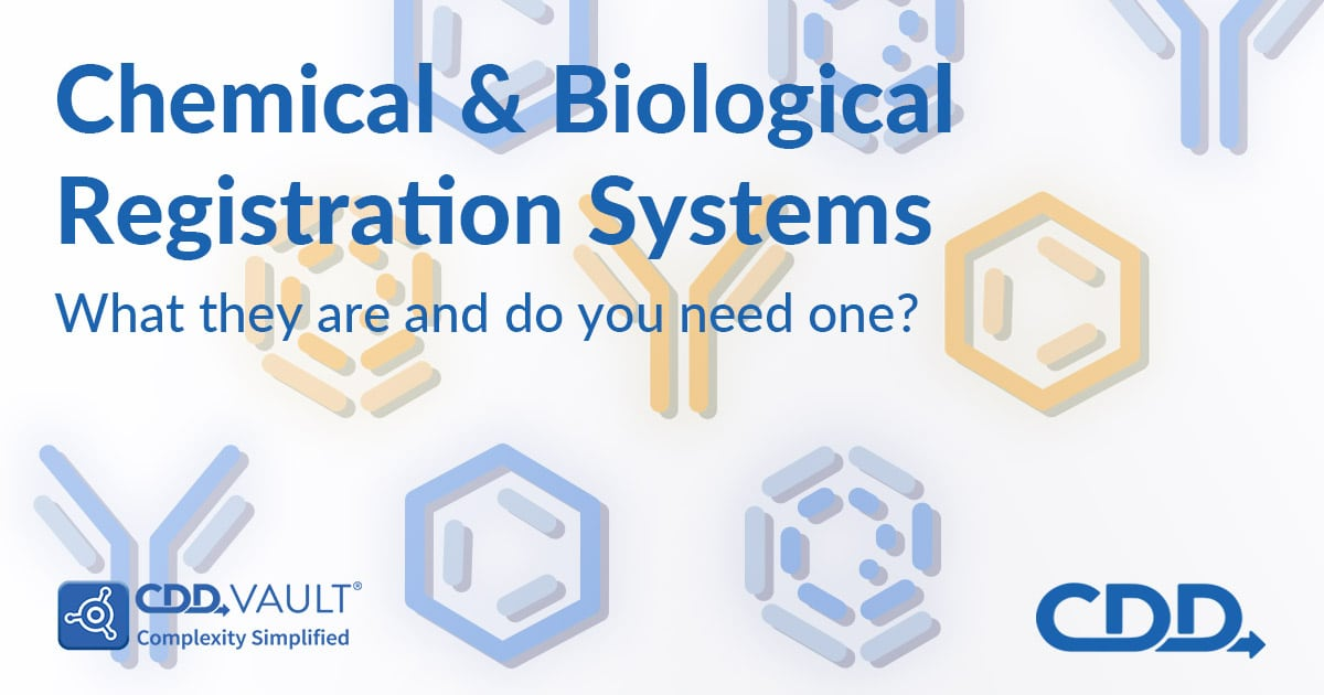 CDDポスト「Chemical and Biological Registration Systems:What are what and are you need one?」の特集画像