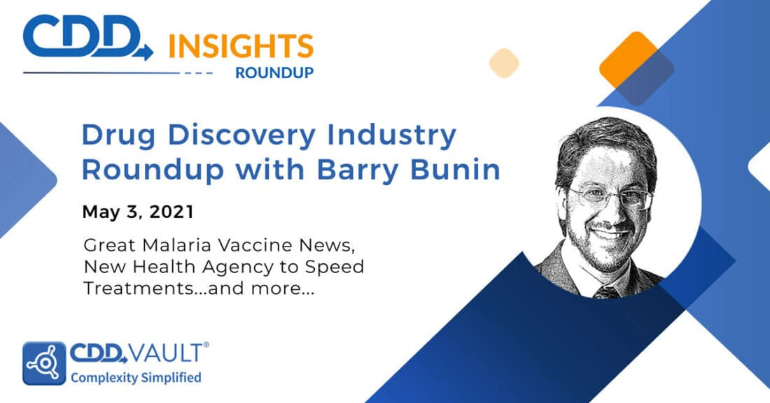 Drug Discovery Industry Roundup May 3 2021