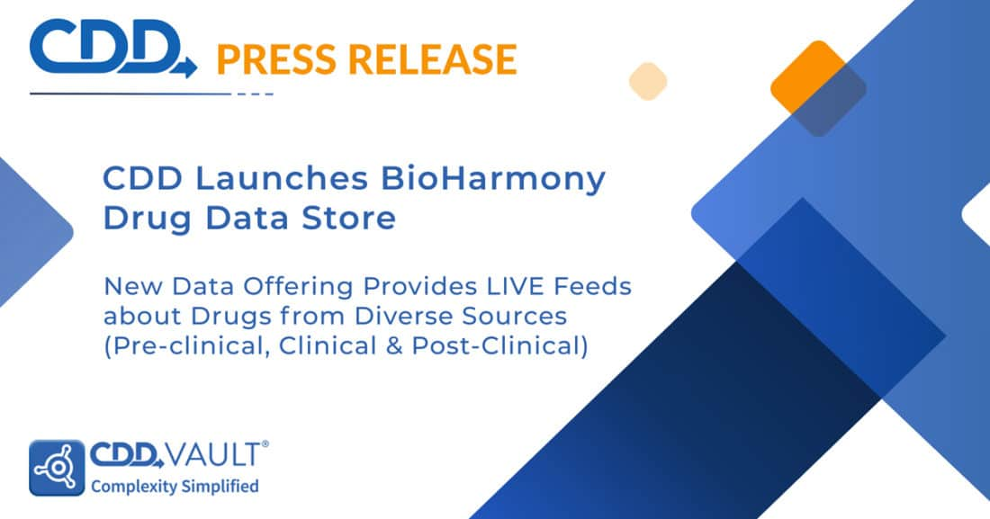 Collaborative Drug Discovery (CDD) Launches BioHarmony