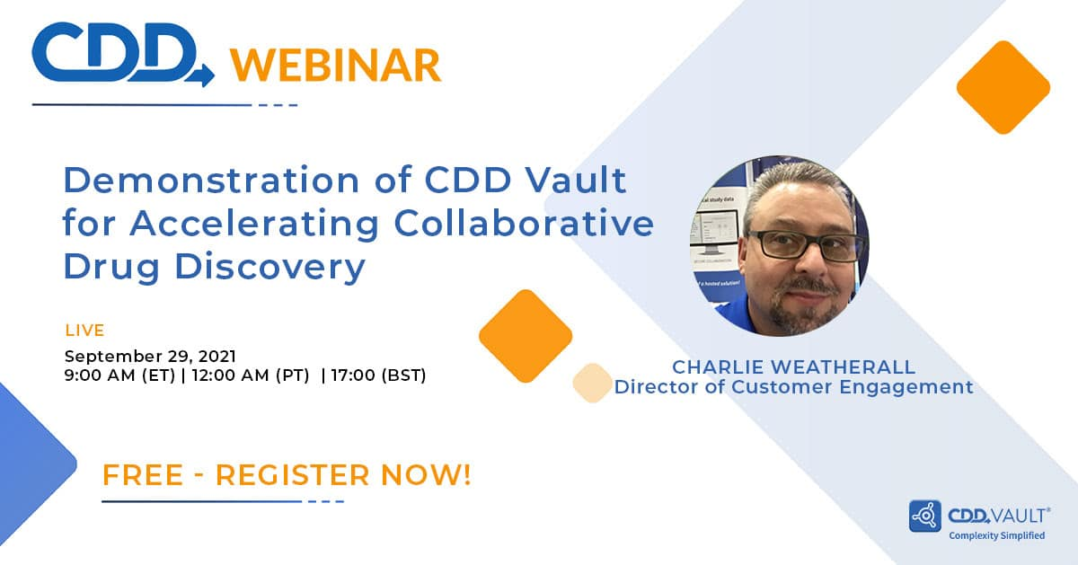Demo of CDD Vault for accelerating collaborative drug discovery